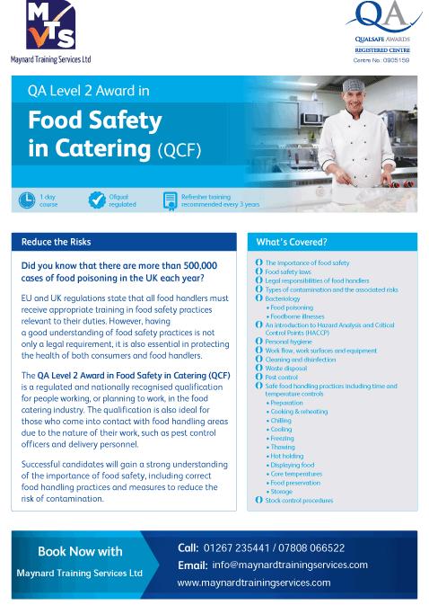 QA_Centre_Marketing_-_Food_Safety_in_Catering_Flyer