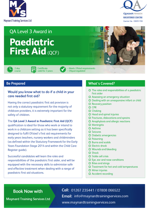 QA_Centre_Marketing_-_Paediatric_First_Aid_Flyer